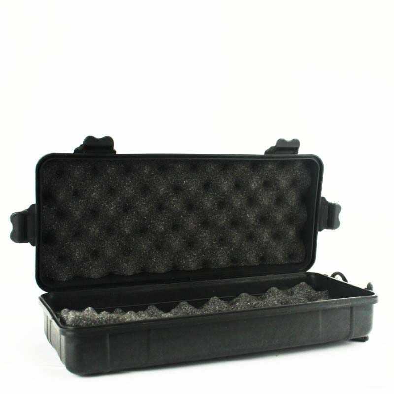 26X12X8 Cm Guncangan Luar Ruangan Tertutup Safety Case Kotak Alat Plastik Peralatan Safety Alat Kotak Penyimpanan Membawa kotak