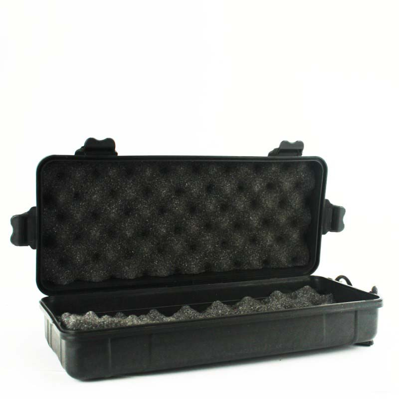 26x12x8cm Outdoor Shockproof Sealed Safety Case Plastic Tool Box Safety Equipment Instrument Box Storage Carry Box