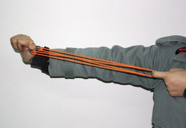 1 pièce tactique 1745 Latex élastique Tube bande extérieure fronde catapulte élastique partie élastique chasse tir fronde équipement