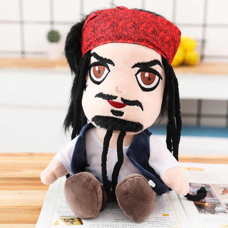Brinquedos Do Pássaro do Papagaio de pelúcia Filme Jack Sparrow Piratas Boneca Simulação Boneca de Pelúcia para As Crianças Boneca de Presente de Aniversário Das Crianças