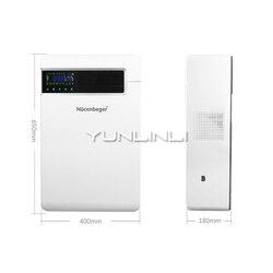 Gospodarstwa domowego oczyszczacz powietrza świeżego inteligentny filtr powietrza wiszące na ścianę filtrowanie powietrza sprzęt NCBG-150GD