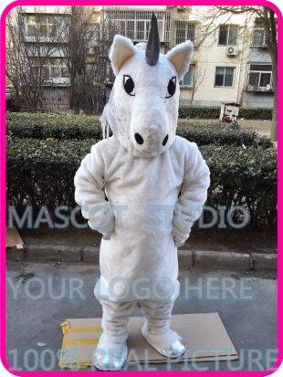 Mascotte licorne mascotte costume peluche licorne mascotte personnage de dessin animé personnalisé cosplay fantaisie robe mascotte thème