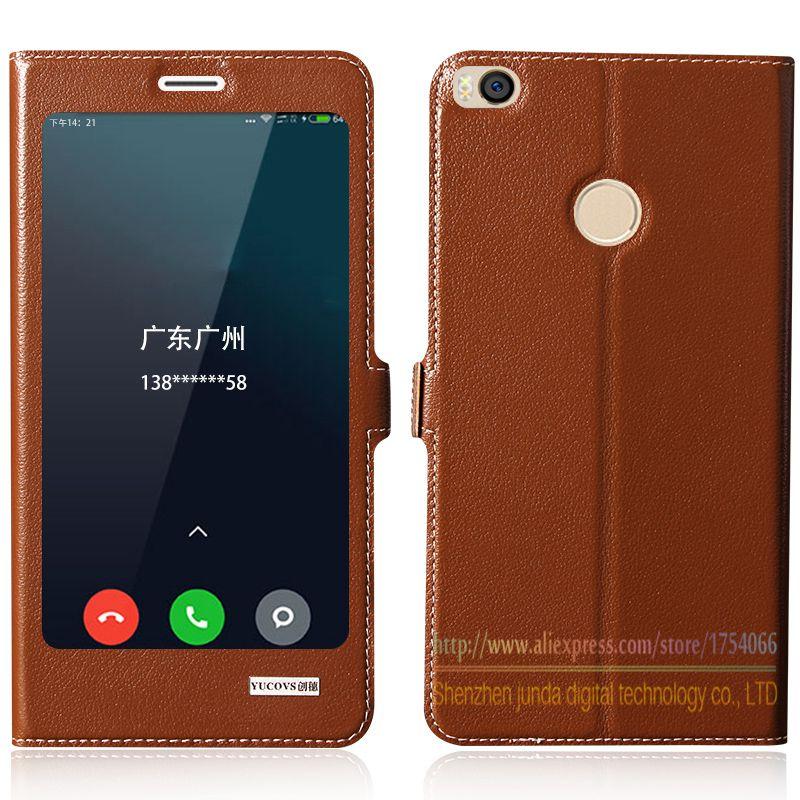 Top Qualität Natürliche Echte Leder Magnet Flip Standplatz-abdeckung Fall Für Xiaomi Mi Max2 Mi Max 2 Mmax2 6,44 zoll Luxus Handy