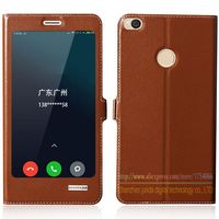 Top Quality Natural Genuine Leather Magnet Flip Stand Cover Case For Xiaomi Mi Max2 Mi Max