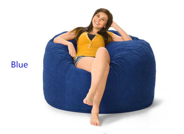 Bean Bag Chair For Kids/adult Lazy Boy Sofa COVER Only Supply Without The  Inside Filler D36x24 Inch In Living Room Sofas From Furniture On  Aliexpress.com ...