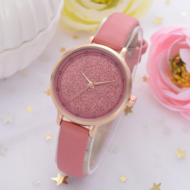Beautiful Top Brand Luxury Starry Women Watches Quartz Ladies Bracelet Watch Cas