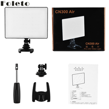 Foleto CN300 AIR LED Video Light CN 300 Air Pr Photography l