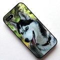Природа животные собаки хаски Крышка Случая, чехол для Apple Iphone 4s 5 5s SE 5c 6 6 s 6 плюс 6 s плюс