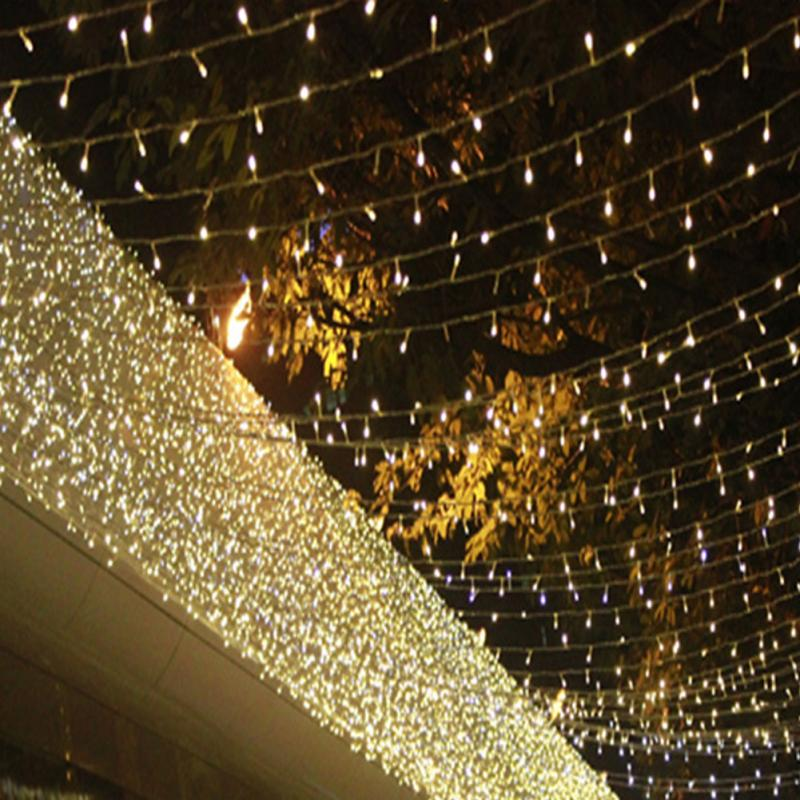 ФОТО 6*3M Waterfall LED Light Water Flow String Lights Wedding Party Festival Decor