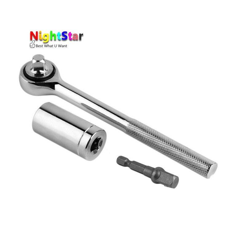 3 Piece/Set Repair Tools Multi-function Tool Sockets 7-19mm Adapter Car Hand Tools Repair Kit Ferramenta Hand Tool Sets