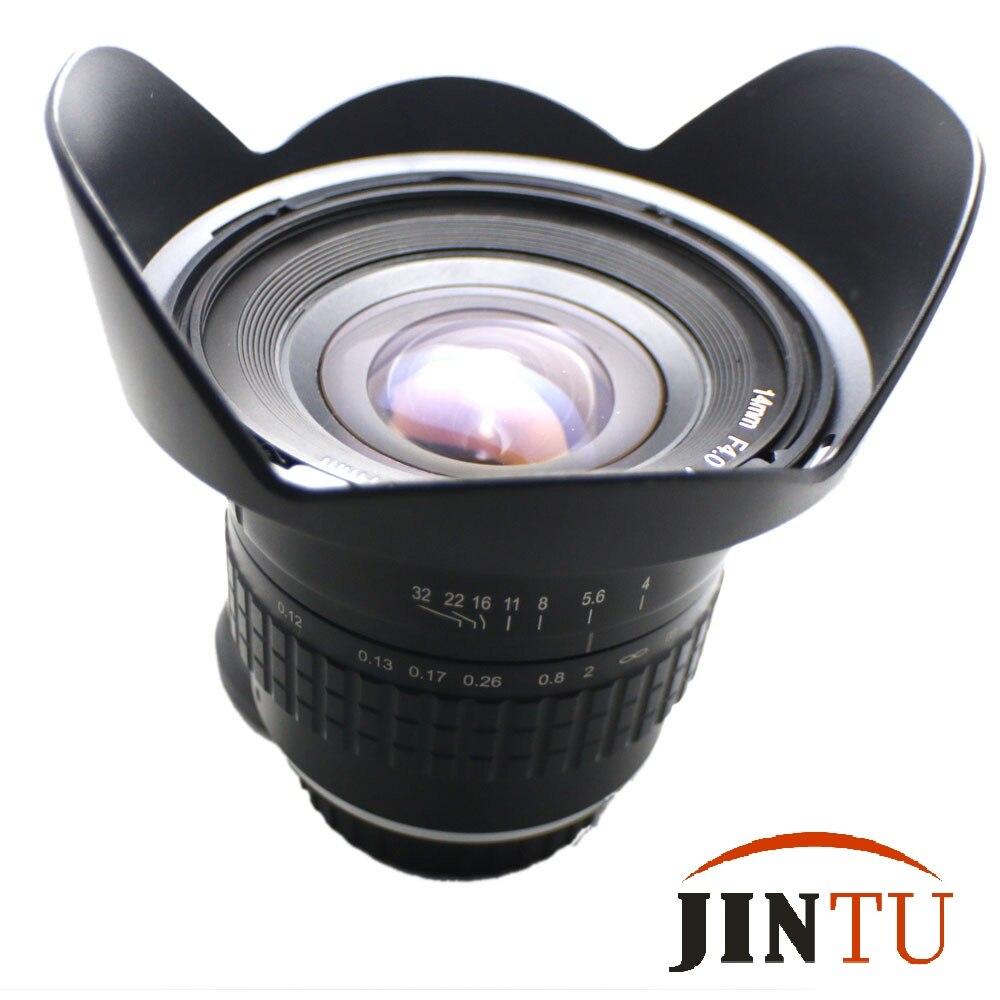 JINTU 14mm f/4.0 Ultra Gran Angular de Lente de ojo de Pez Para ...