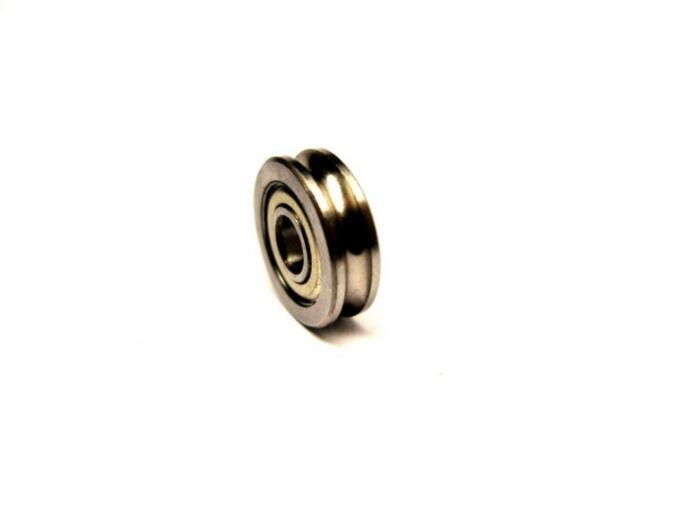 5Pcs LV20/10 V Groove 10*30*14mm Sealed Ball Track Roller Guide Vgroove Bearing tv0630 tv0630vv v groove pulley ball bearings 6 30 8 mm track guide roller bearing