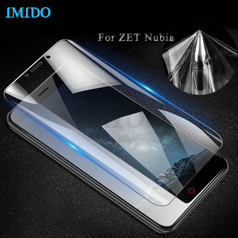 IMIDO 3D Cover TPU Screen Protector Film For Nubia Z18 mini Z17s/Z11 Z17 mini S/Z11 Max V18 Full Screen Film(Not Tempered Glass)