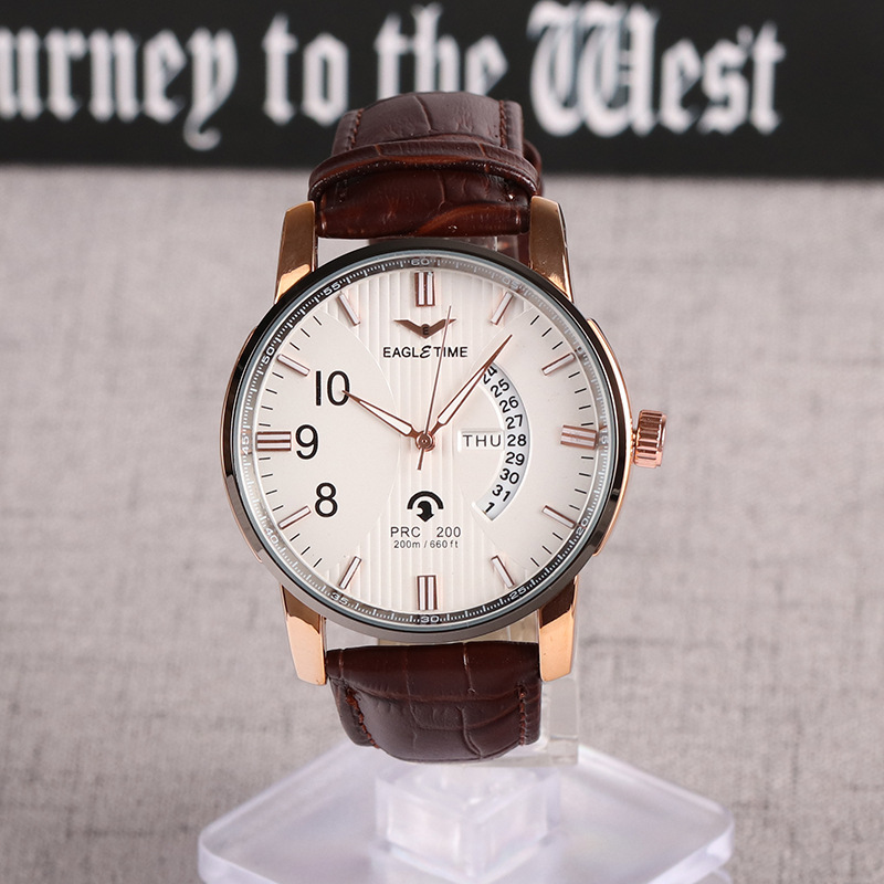 New Watch Men Fashion Sport Quartz Clock Mens Watches Top Brand Luxury Full Steel Business Waterproof Watch Relogio Masculino new fashion mens watches gold full steel male wristwatches sport waterproof quartz watch men military hour man relogio masculino
