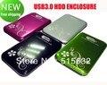 Usb 3.0 de 2.5 pulgadas SATA HDD External Hard Drive Case disco caja acústica