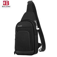 BALANG Crossbody Bags Men Chest Bag Pack Shoulder sling Bag for Men Large Fashion Casual Travel Waterproof Messenger Bolso