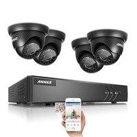ANNKE HD 8CH CCTV System 1 3MP 960P Real Time Surveillance AHD DVR KIT 4PCS Outdoor