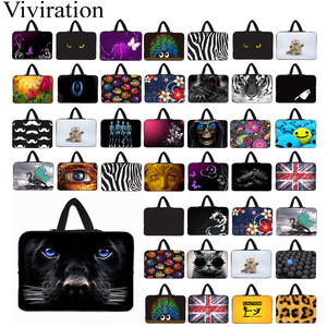 10 12 13.3 14 15 17 15.4 Notebook Chromebook Neoprene Briefcase Tablet 10.1 Netbook Portable Nylon Bags Case For LapBook 15.6 HP(China)