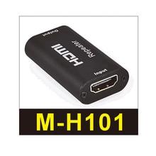 HDMI repeater odtwarza sygnały audio i wideo z odtwarzane źródła sygnału