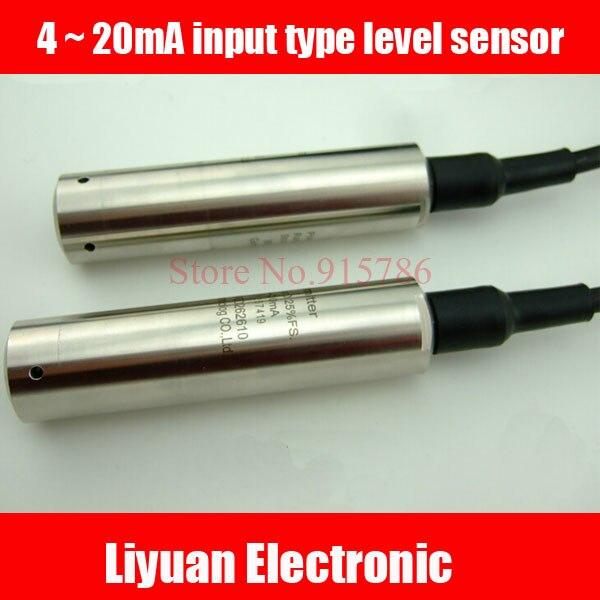 4 20mA input type level sensor 0 1M input type level transmitter 316 Input type level