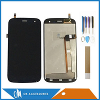 Good Quality For Explay x tremer LCD Display+ Touch Screen Digitizer Black Color With Tools Tape