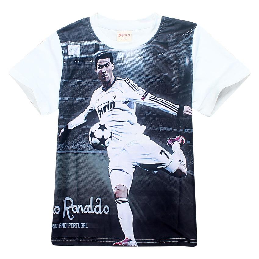 best cheap 275cf c44a5 Children Boy t Shirts Summer Cristiano Ronaldo cr7 T Shirts ...