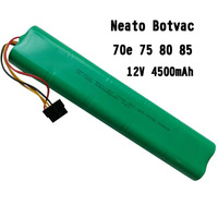 12V SC NI MH Rechargeable Battery Pack 4500mah Cell For Neato Botvac 70e 80 85 D75 D85 Vacuum Cleaner Sweeping Robot Series