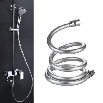 2019 PVC wysokie ciśnienie 1 5m 2m pogrubienie anti-winding gładki wąż prysznicowy do kąpieli ręczny prysznic głowy elastyczny wąż prysznicowy tanie i dobre opinie PVC150 Węże hydrauliczne open mounting 1Mpa 0-100℃ hose for shower flexible shower hose