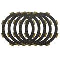 Motorcycle Clutch Friction Plates Set for HONDA CR80RB CR80 RB  2000-2002 / CR80R  1984-2002 Clutch Lining #CP-00012