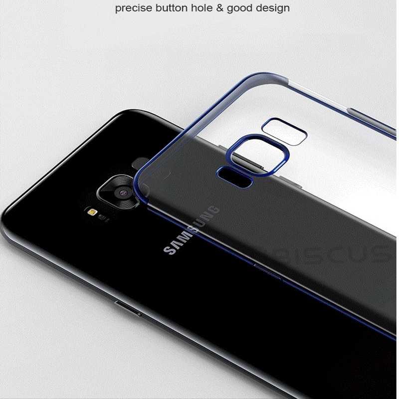Armor Transparent TPU Case For Samsung Galaxy S20 Ultra S8 S9 S10 Plus A6 A7 A8 J4 J6 2018 A5 2017 J5 S10E Note 8 9 10 Lite Cover