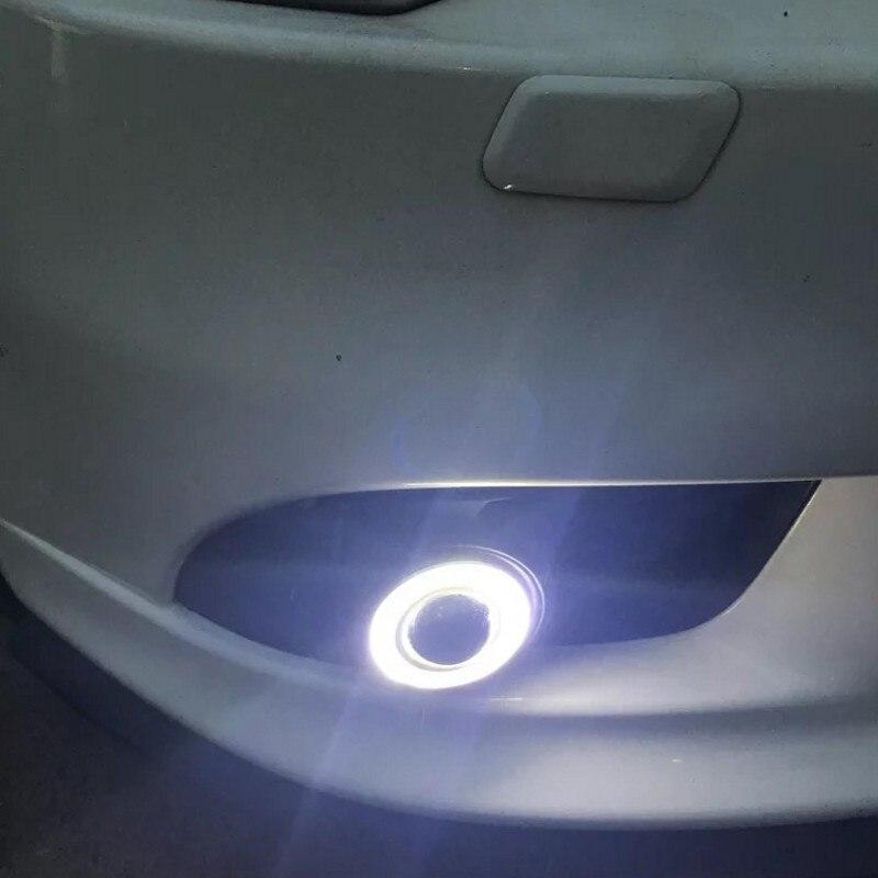 Mitsubishi Lancer Sportback 3in1 LED Angel Eyes DRL Sarı Siqnal - Avtomobil işıqları - Fotoqrafiya 6