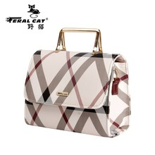 FERAL CAT 2017 New Designer Handbags High Quality Messenger Shoulder Luggage Luxury Doctor Bags Women Famous