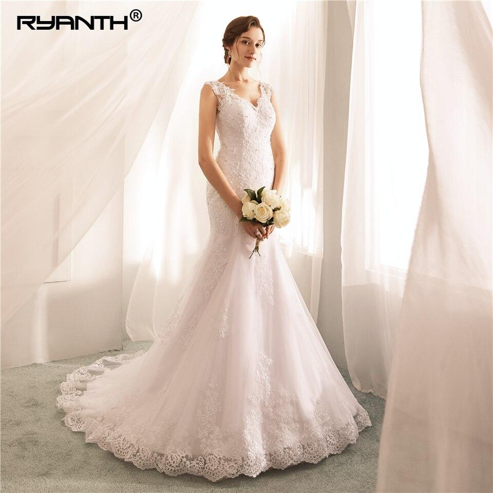 Buy Used Wedding Gowns: Aliexpress.com : Buy Ryanth Robe De Mariage 2018 New