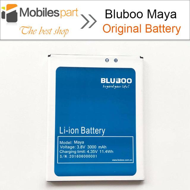 Bluboo Maya Batería 100% Original del Reemplazo 3000 mAh Li-ion Batería de repuesto para Bluboo Maya smartphone Envío Gratis