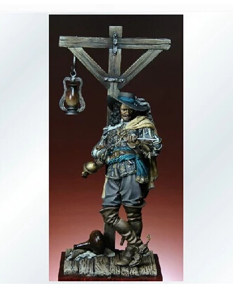 pre order-(General quality version) Francois L'Olonnais 75mm Resin Model Kit Free Shipping pre order general quality version resin model soldier british grenadier cavalry napoleonic wars