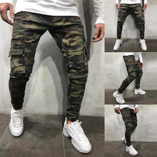 682e125c1 Camuflaje Pantalones Vaqueros De Los Hombres - Compra lotes baratos ...