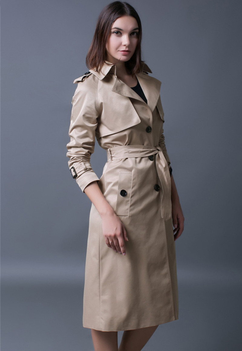 British Style Tunique Mantel Ayunsue Damen Grabenfrau Longue 8n0Nmw