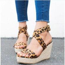 1ede3740b SHUJIN Cunhas Sapatos Para Mulheres Super Salto Alto Calçados femininos  Sandálias de Verão Gladiador Cross-