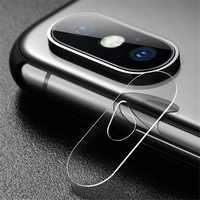 Vetro Plexi Copertura Della Protezione Completa Protezione Per iphone X 8 Più Nuovo Obiettivo Fotocamera Posteriore Libera Dello Schermo di Protezione Della Pellicola Della Protezione