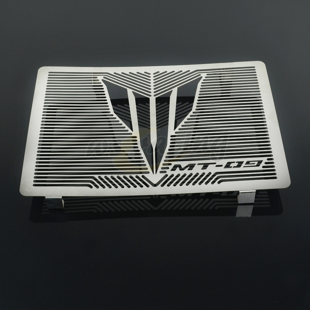 Motorcycle New Stainless Steel Radiator Guard Cover Grille Grill Protector For YAMAHA MT09 MT-09 2014-2016 2014 2015 2016 engine bumper guard crash bars protector steel for yamaha mt09 mt 09 fz07 fz 09 2014 2016 2014 2015 2016 motorcycle