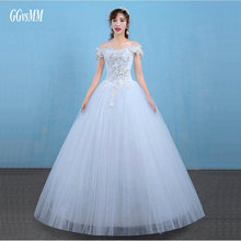 vestidos de noiva Ivory Wedding Gowns Long 2018 Sexy Wedding Dresses White Formal Plus Size Sweetheart Crystal Lace-Up Ball Gown