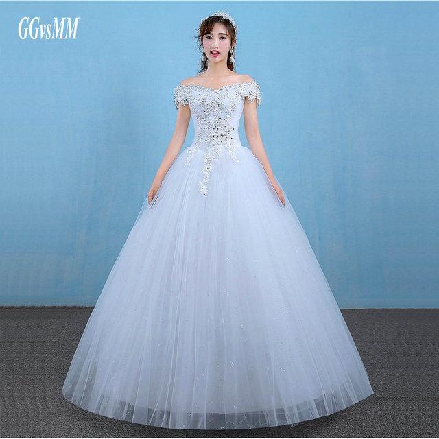 Vestidos De Noiva Ivory Wedding Gowns Long 2018 Sexy Wedding Dresses