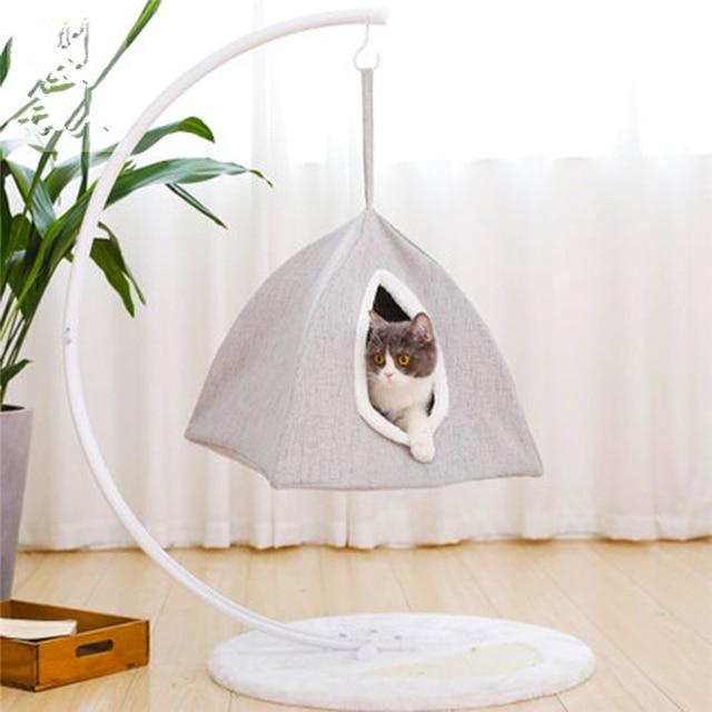 Hanging basket cat Nest cat Bed cat House pet Home Pet Crawl Hammock felines Cushion felines mattress Sturdy and durable Cushion
