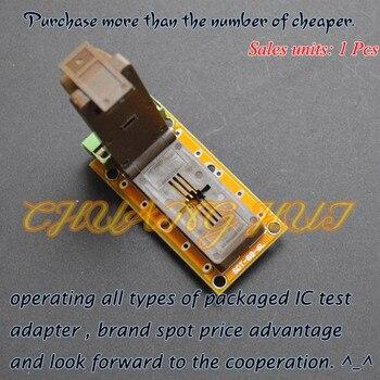 SOT-89-6L test socket SOT89-6L socket/Aging test socket(pcb) 20pcs 2sb772p sot 89 2sb772 b772p b772