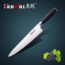 """HUIWILL Marke Super Qualität 9 """"edelstahl Küchenchefmesser Japanischen Messer Gemüse Fleischmesser"""