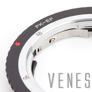 Image 5 - Venes دعوى ل PK EOS GE 1 AF تأكيد برو عدسة محول تركيب دعوى ل Pentax K عدسة لكانون EOS كاميرا