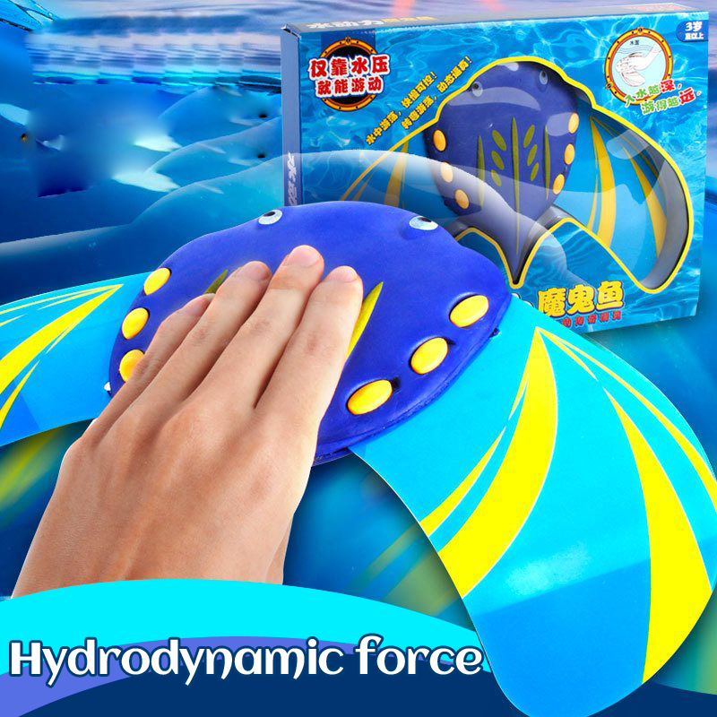 Hydrodynamic Devil Fish Action Pressure-driven Driving Childrens Swimming Pool Toys Parent-child Interaction Water Toy