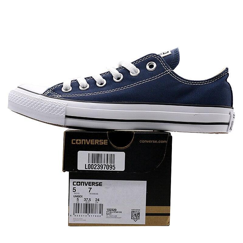 Nouvelle D'origine Converse all star de toile chaussures hommes et femmes sneakers classique de Planche À Roulettes Chaussures - 6