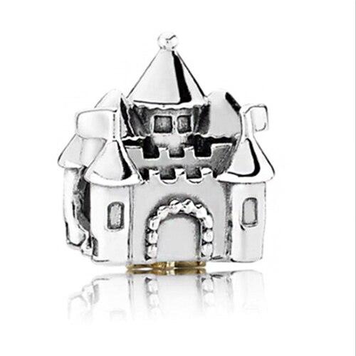 Макси маленькое Рождественское дерево костыль колокольчик Санта Клаус подвески-шармы Pandora Браслеты и браслеты для женщин DIY для украшения подарка - Цвет: Style 1