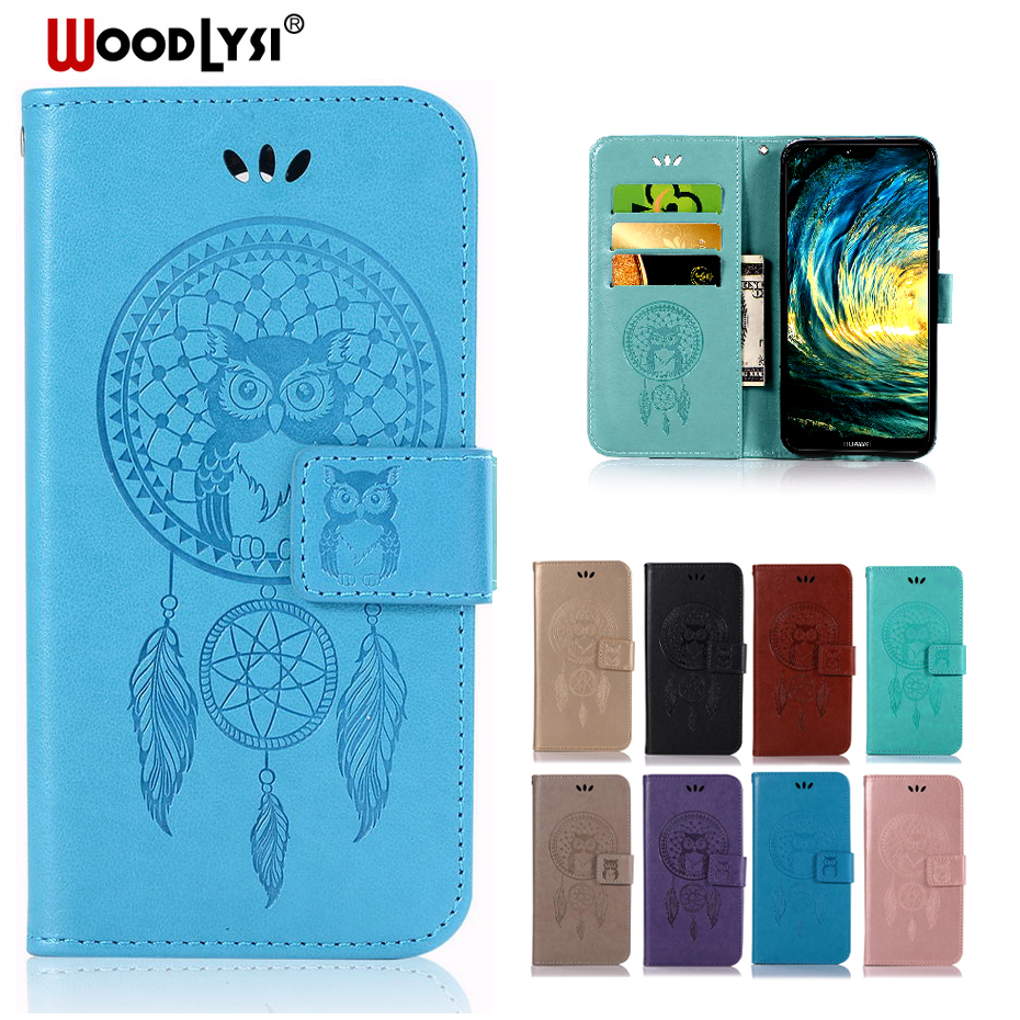 Leather Flip Case For Huawei P20 P8 P9 P10 Lite mini Plus 2017 Nova 2i 3E Cover Case for Huawei Mate 10 Pro Lite Phone Case Bag